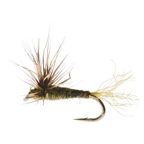 Dream Cast Sparkle Dun Dry Fly - Dozen