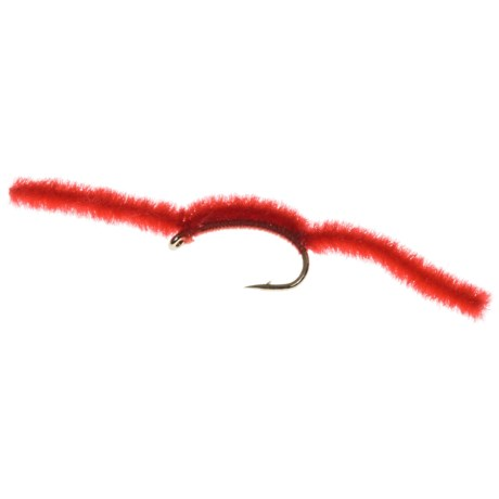 Dream Cast San Juan Worm Nymph Fly - Dozen