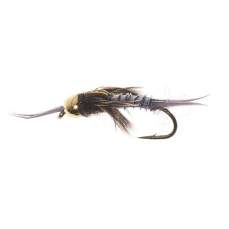 Dream Cast Bead Head Poxyback Micro Stonefly - Dozen