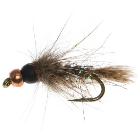 Dream Cast Bead Head Depth Charge Birds Nest Nat Nymph Fly - Dozen