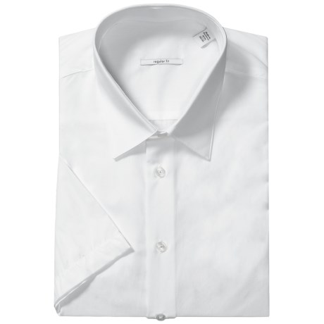 Cotton Sport Shirt - Short Sleeve (For Men)