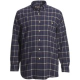 Moose Creek Grizzly Flannel Shirt - Long Sleeve (For Big and Tall Men)