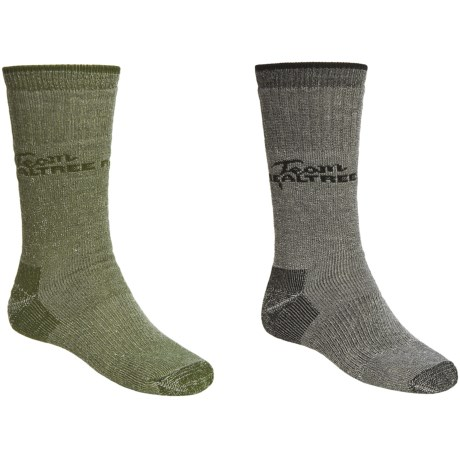 Realtree Moisture-Wicking Socks - 2-Pack, Medium Cushion, Crew (For Men)