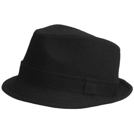 Country Gentleman Wool Fedora Hat (For Men)