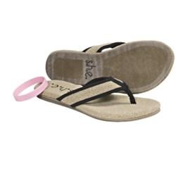 S.H.E. Hemp Sandals - Flip-Flops (For Women)