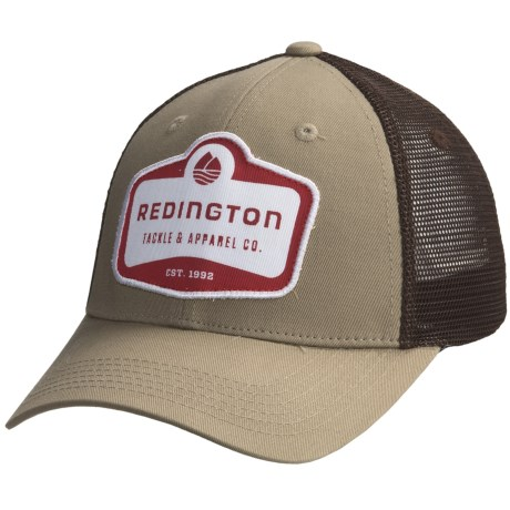 Redington Modern Logo Badge Trucker Hat (For Men)