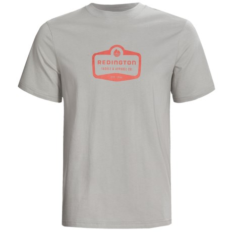 Redington Logo T-Shirt - Organic Cotton, Short Sleeve (For Men)