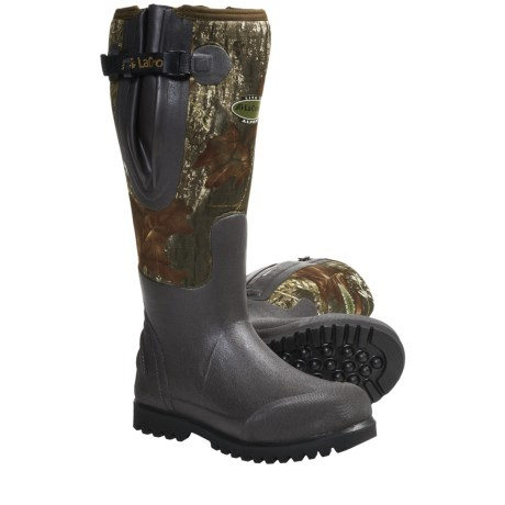 """LaCrosse Alpha Lite Rubber Hunting Boots - 18"""", Waterproof, Insulated (For Men)"""