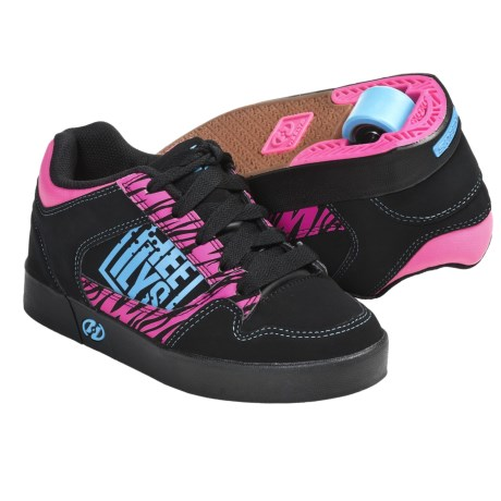Heelys Caution Wheel Heel Skate Shoes (For Girls)