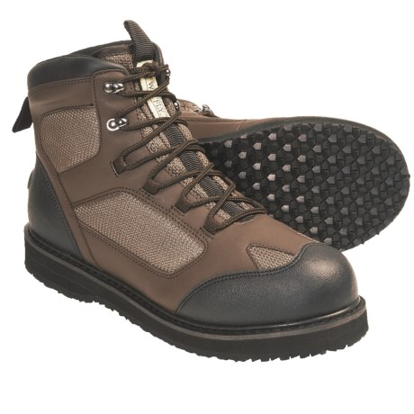 Wetfly Hydride Wading Boots - Rubber Sole (For Men and Women)