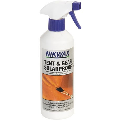 Nikwax Tent & Gear Solar Proof Waterproofing - 17 fl.oz., Spray On