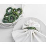 DII Beaded Napkin Rings - Set of 8