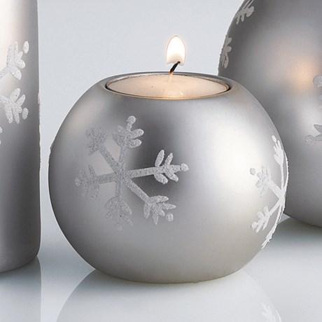 """DII Tea Light Holder - 3"""" Round, Ceramic"""