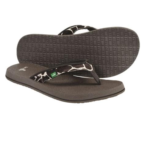Sanuk Yoga Safari Sandals - Flip-Flops (For Women)