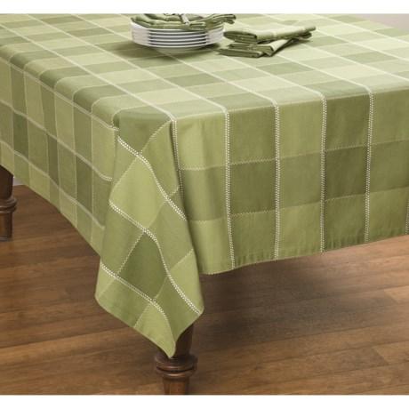 """DII Herb Garden Check Tablecloth - 60x84"""""""