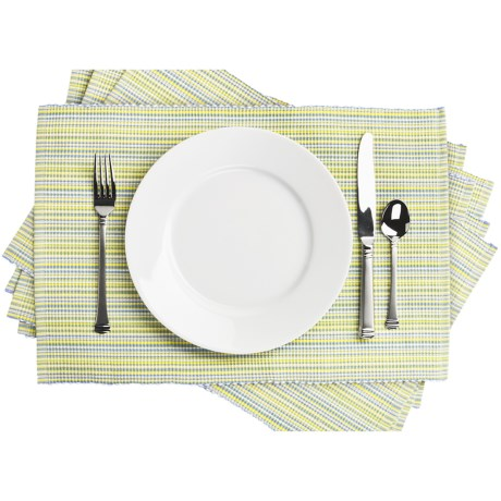 DII Striped Placemats - Set of 6