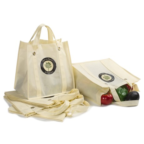 DII Reusable Grocery Bags - Set of 6