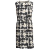 Pendleton Paintbrush Print Silk Dress - Sleeveless (For Women)