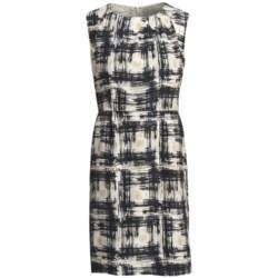 Pendleton Paintbrush Print Silk Dress - Sleeveless (For Women)