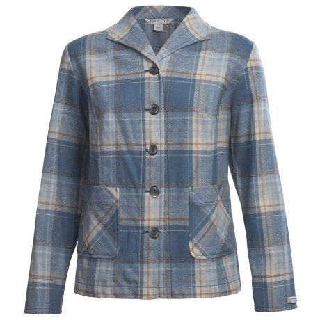 Pendleton New Best Friend Jacket - Virgin Wool (For Plus Size Women)