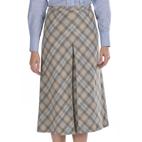 Pendleton Ashland Virgin Wool Skirt - Ombre Plaid (For Women)