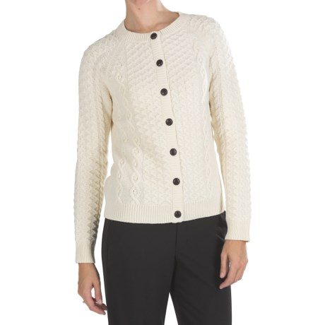 Pendleton Galway Lambswool Cardigan Sweater (For Women)