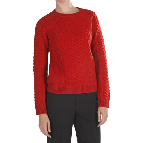 Pendleton Galway Lambswool Sweater (For Women)