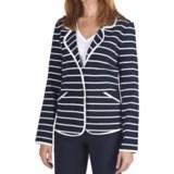 Pendleton Stripes Ahoy Blazer - Double-Knit Cotton (For Women)
