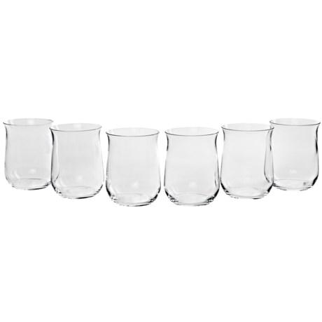 Bormioli Rocco Premium H2O Glasses - Set of 6, Crystal
