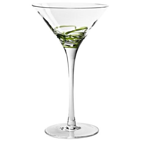 Bormioli Rocco Ceralacca Handmade Martini Glass