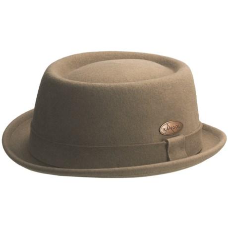 Kangol Lite Felt Pork Pie Fedora Hat - UPF 50+ (For Men)