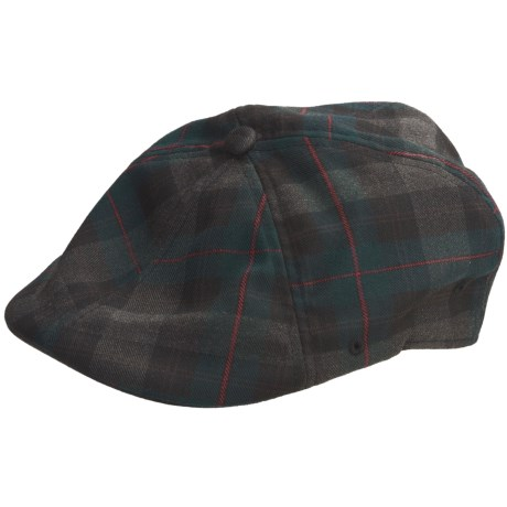 Kangol Plaid 504 Driving Cap (For Men)