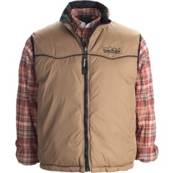 Powder River Outfitters Denali Vest - Taslon Twill, Reversible, Insulated (For Men)