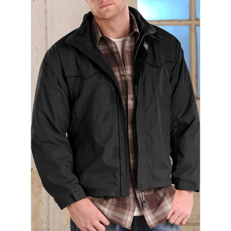 Powder River Outfitters Darwin Taslon Twill Coat (For Men)