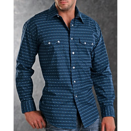 Rough Stock Duomo Western Shirt - Snap Front, Long Sleeve (For Men)