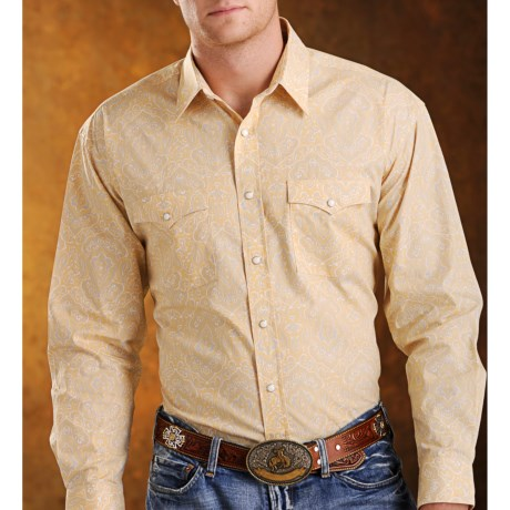 Rough Stock Catalina Antique Paisley Western Shirt - Snap Front, Long Sleeve (For Men)