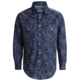 Rough Stock Antique Print Western Shirt - Snap Front, Long Sleeve (For Men)