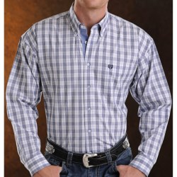Panhandle Slim Peached Poplin Print Shirt - Button Front, Long Sleeve (For Men)