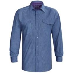 Panhandle Slim Western Shirt - Peached Poplin, Long Sleeve (For Men)