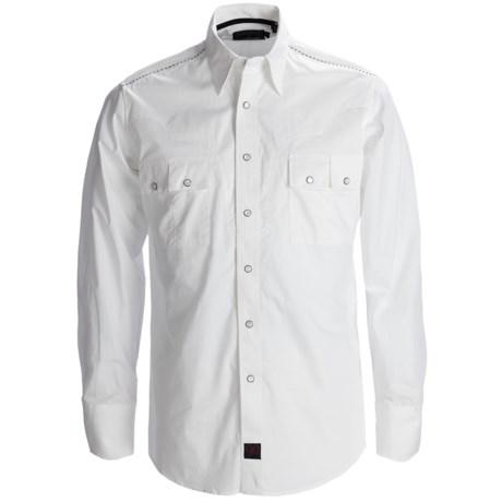 Panhandle Slim 90 Proof Sateen Screenprint Western Shirt - Snap Front, Long Sleeve (For Men)