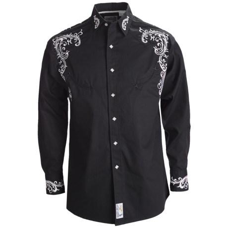 Panhandle Slim Retro Eastbound Embroidered Shirt - Snap Front, Long Sleeve (For Men)