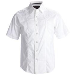 Rock & Roll Cowboy Western Shirt - Cotton Poplin, Snap Front, Short Sleeve (For Men)