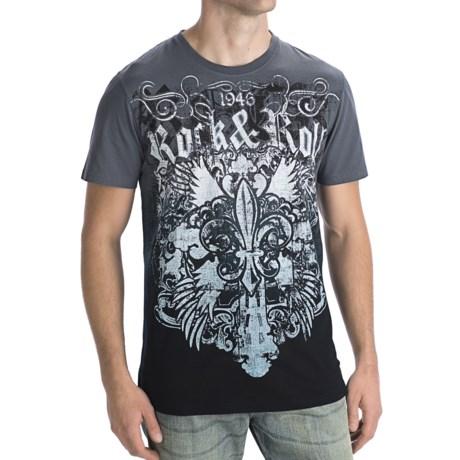 Rock & Roll Cowboy Dip-Dye T-Shirt - Short Sleeve (For Men)
