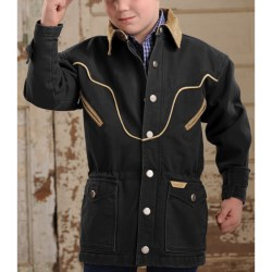 Powder River Outfitters Lil' Chadron Coat - Canvas Lined (For Boys)