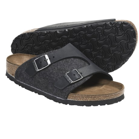 Birkenstock Zurich Sandals - Leather (For Men and Women)