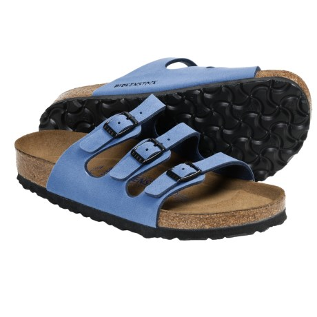 Birkenstock Florida Sandals - Suede Soft Footbed, Birko-Flor® (For Women)