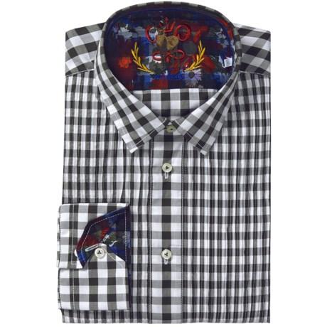 Van Laack Pintuck Shirt - Long Sleeve (For Men)