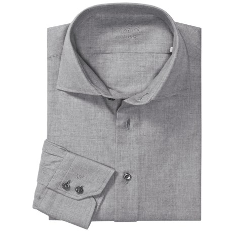 Van Laack Tailored Fit Fashion Shirt - Long Sleeve (For Men)