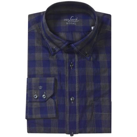 Van Laack Tailored Fit Chest Pocket Shirt - Long Sleeve (For Men)