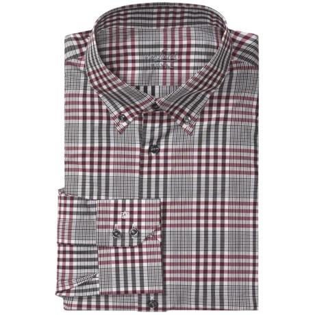 Van Laack Tailored Fit Multi-Check Shirt - Long Sleeve (For Men)